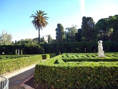 Valencia guia for Jardines de monforte