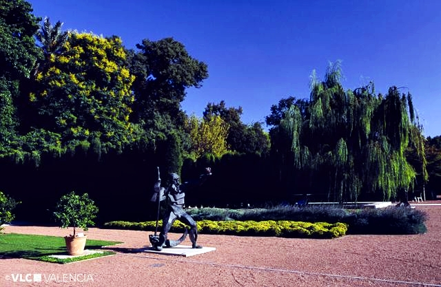 Valencia guia for Jardin hesperides